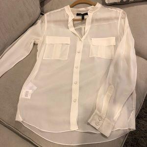 BCBGMaxAzria Tops - BCBG MaxAzria silk blouse Small